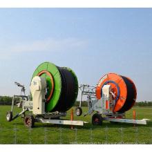 Machine agricole d'occasion de tuyau d'irrigation à rétraction automatique