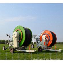 Автоматическая втягиваемая ирригационная труба для сельскохозяйственных машин