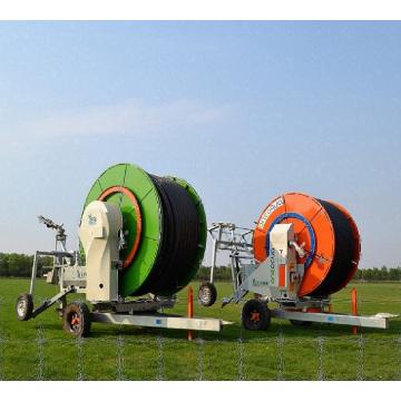 Máquina agrícola usada de tubería de riego de retracción automática