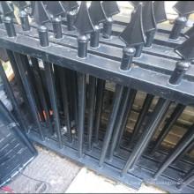 2x rampes métalliques en fer forgé de 294cm