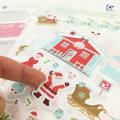 Autocollant d'étiquette de matériel imprimé de PVC de forme animale de logo de bande dessinée 3D fait sur commande pour des enfants