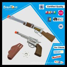 Atacado B / O western gun som cowboy brinquedo arma set