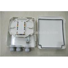 Распределительная коробка PLC сплиттерного распределителя 1x8 подходит для SC LC FC ST Адаптер Fiber Pigtail