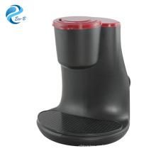 Venta al por mayor de regalos para clientes, pequeña máquina de café de goteo de plástico instantáneo eléctrico de 2 tazas para uso en habitación de hotel