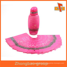 Guangzhou supplier customizable water proof heat sensitive body lotion private label with your logo