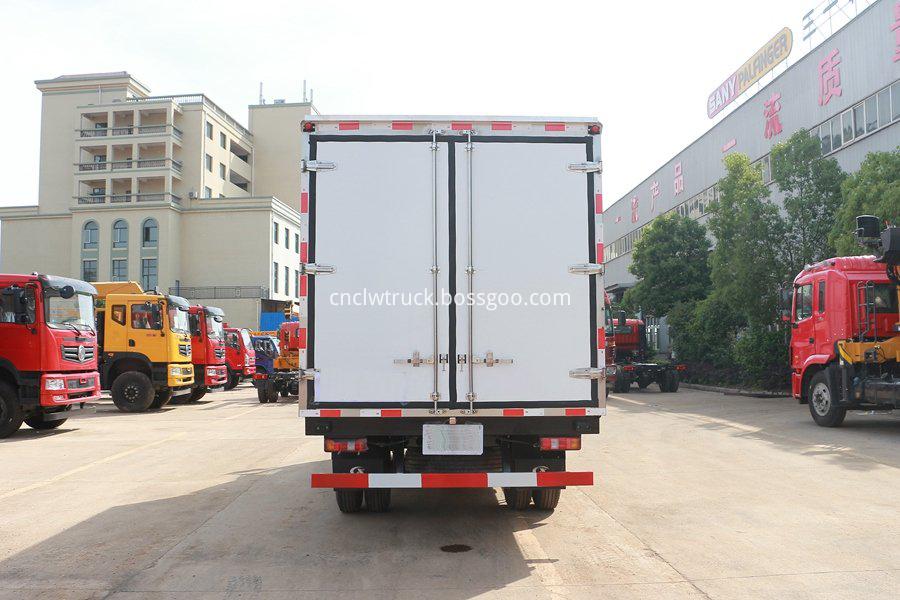 JAC refrigerated van 4