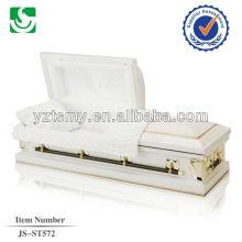JS-ST572 metal steel caskets