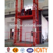 ascenseur de cargaison d'entrepôt de rail de guide de petit ascenseur pour des ascenseurs