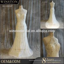 China fornece todos os tipos de vestidos de casamento da sereia da China