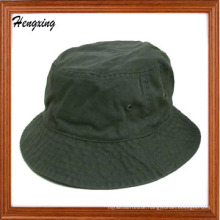 New Fashion Solid Olive Color Custom Made Bucket Hat