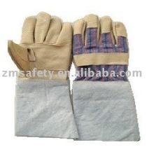 Guantes de trabajo para soldadura de cuero Industry Industry ZM506-L
