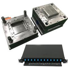 custom precision plastic injection housing mould electric fiber optical terminal box mold