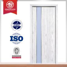 45mm Caoba 60min fuego nominal entrada puerta de madera maciza, puerta de madera maciza, puerta de color caoba sólida de caoba