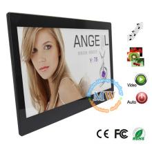 13 pouces HD 1080p vidéo LCD publicité cadre photo avec détecteur de mouvement