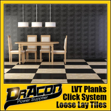 Planche de vinyle en mosaïque Lay Tissu design de mode (P-7047)