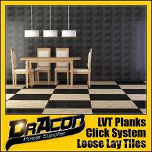 Модный дизайн Loose Lay Tile Vinyl Plank (P-7047)