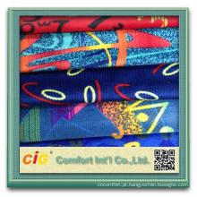 Moda novo estilo colorido auto produtos têxteis carro clássico tecido de impressão