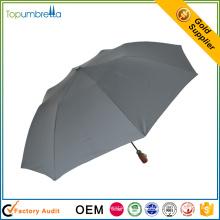 оптовый китайский поставщик пользовательские печати удобный 2-складной зонтик