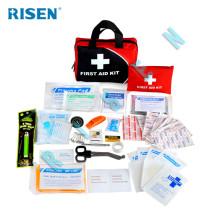 China atacado Fornecimento da fábrica Certificado CE / ISO promoção kit de primeiros socorros bolsa médica com suprimentos médicos