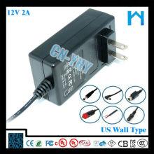 Adaptador de energia fy1202000 12v 2a 24w