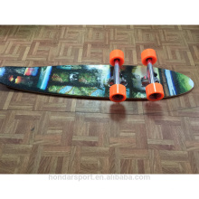 2016 new design cheap complete longboard wood cruisers