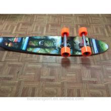 2016 novo design barato cruzeiros de madeira longboard completo