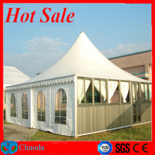 Hot sale aluminum CE,SGS and TUV cetificited 5x5 pagoda tent