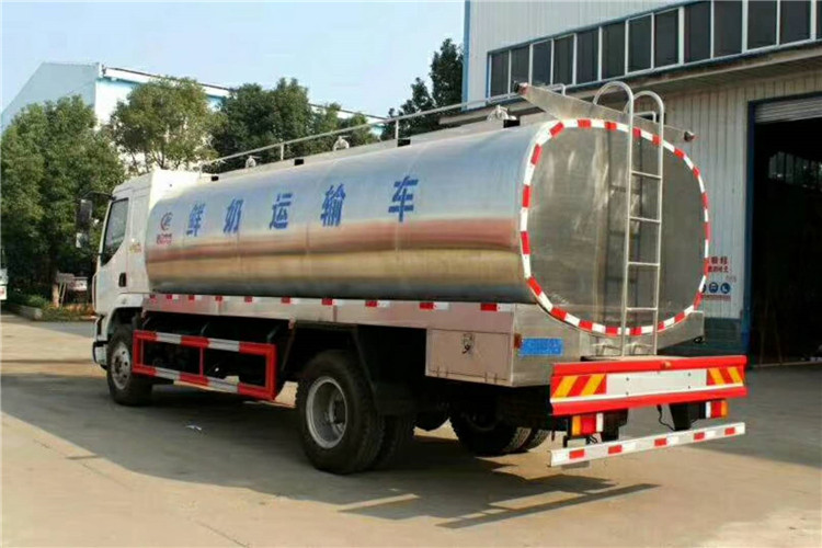ايسوزو 190HP COLD CHAIN ​​MILK TRANKORTATION TRUCK