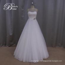 Vestido de boda nupcial de la gasa Precio razonable
