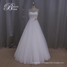 Preço razoável do vestido de casamento chiffon nupcial