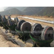 Máquina de moinho de rolo de ouro para muitos processamento de minério de ouro do Sudão