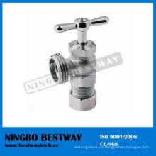 Válvula de ángulo de compresión latón niquelado para lavadora (BW-A43)