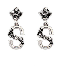 Sapphire Fashion Silver Jewelry Earrings Producer Teenage Fashion Jewelry