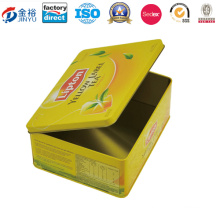 Rectangular Tea Tin Box for Tea Bah Jy-Wd-2015112738