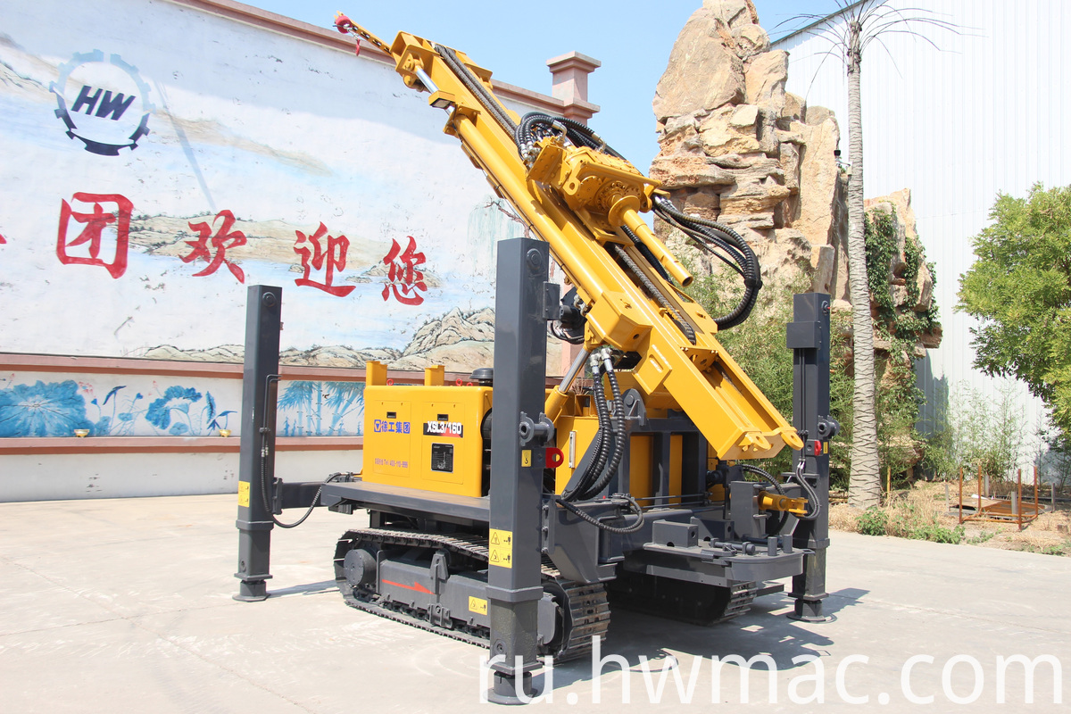 truck drilling rig