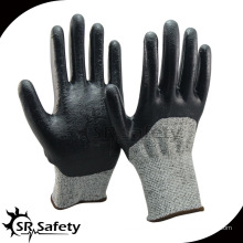 SRsafety Нитриловая химически стойкая перчатка CUT LEVEL 3