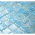 Swimming pool and aquarium glass mosaic floor tiles
