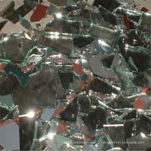 Chips miroirs, Mirros cassés, miroirs écrasés pour comptoirs