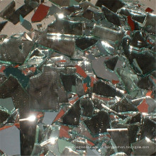 Mirror Chips, Broken Mirros, Espelhos esmagados para Countertops
