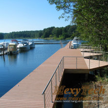 WPC Decking Products for Sea Side, UV Resistance 140X23mm