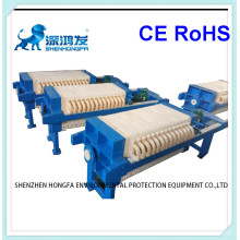 Automatic Chamber Filter Press with Cloth Washing System