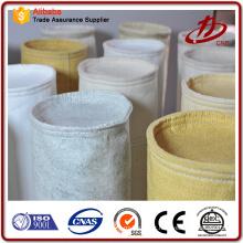 Sac de filtre en tissu de fabrication en usine pour collecteur de poussière