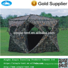 Military blinded camouflage hunting tent