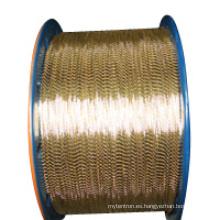 0.15, 0.20, 0.25, 0.30, 0.35, 0.40 Cable de acero revestido de la manguera de goma