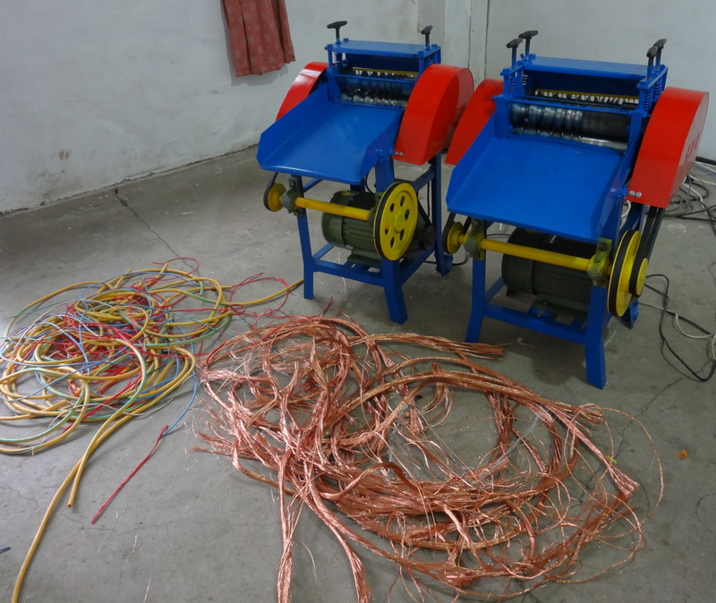 how to strip copper wire for scrap