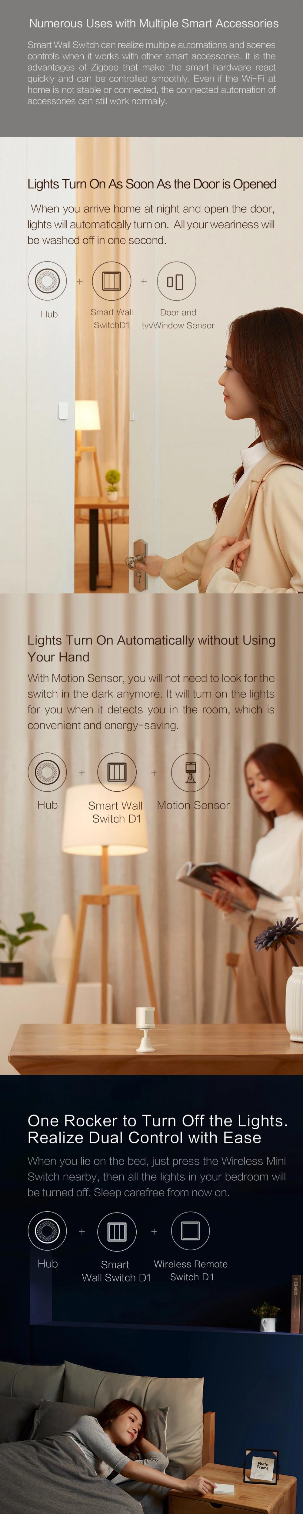 Aqara D1 Smart Wall Switch