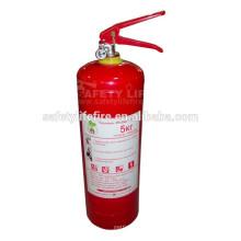 Extintor de incêndio portátil DCP 4.5kg / ABC tipo extintor de incêndio para venda / extintor de incêndio de uso de carro de Líbano