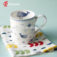 Taza de café taza de encargo al por mayor de China del hueso