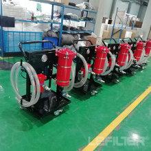 Chariot mobile de filtre à huile d'épurateur d'huile de lubrification 100lpm