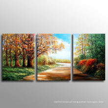 Wall Art Canvas Abstract Oil Painting for Hotel